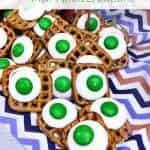 Green Eggs & Ham Pretzel Buttons
