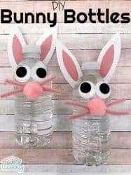 Bunny Water Bottles (printable patterns - free)