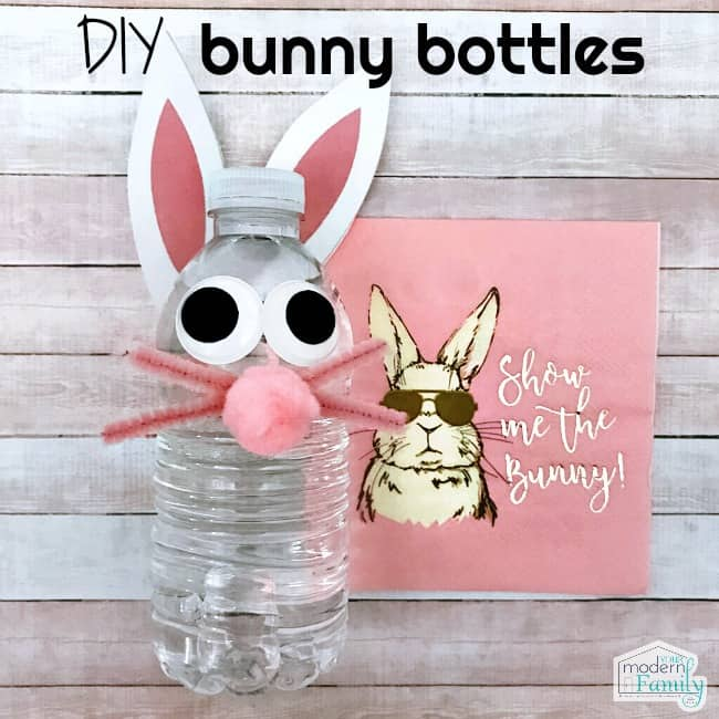 DIY bunny bottle - homemade