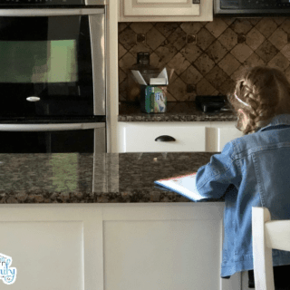 Cleaning with kids teaches them so much more than cleaning