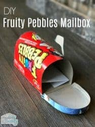 Cereal box mailbox
