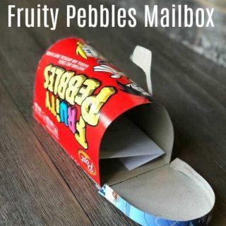 DIY Cereal MailBox