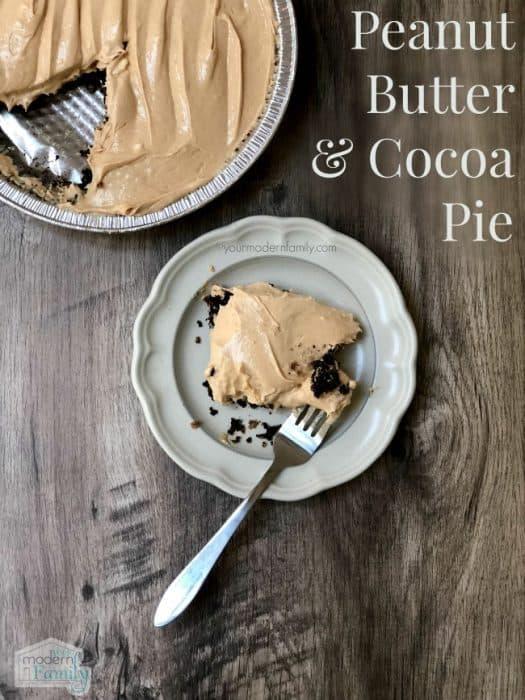 Peanut Butter & Cocoa Pie