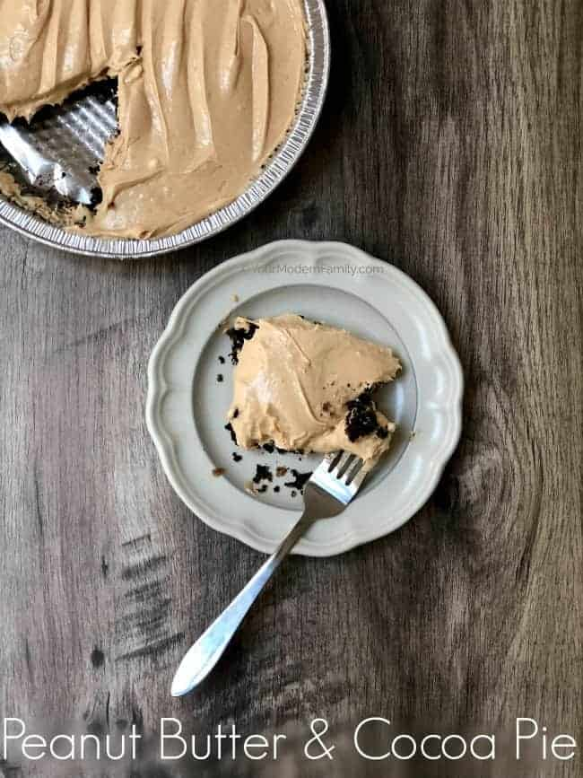 Peanut Butter & Cocoa Dessert (no-baking!)
