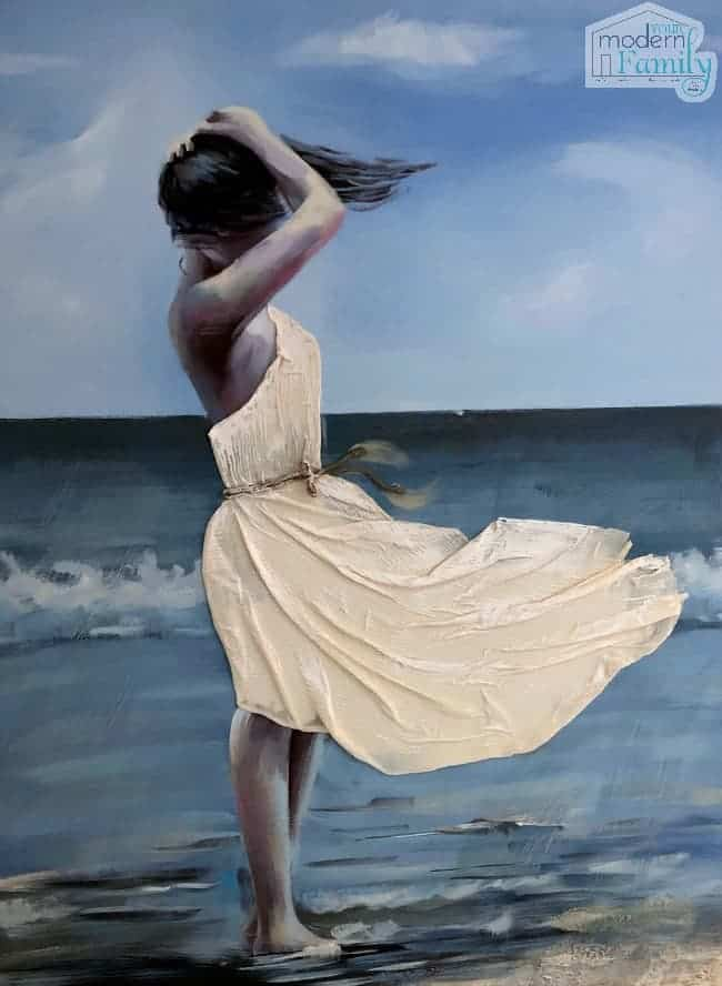 coastal decor painting