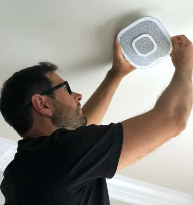 #ad Have you seen this fire alarm, CO alarm and speaker all built into one?  It works with Alexa & Siri and it also sends alerts to your phone if fire or CO is detected. @FirstAlert