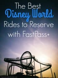 The Best Disney World Rides to Reserve with FastPass+ 1