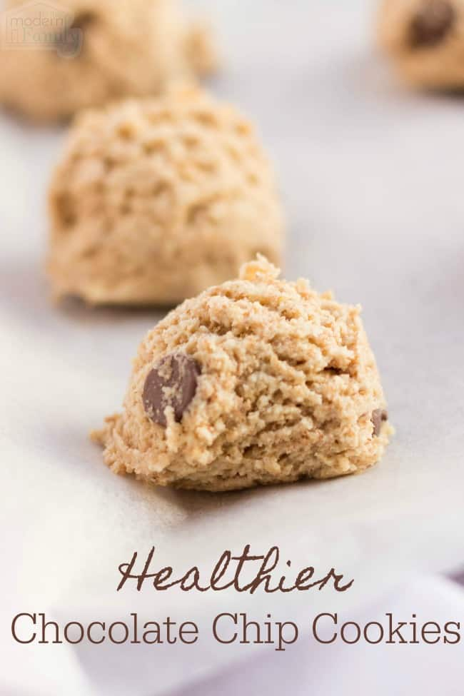 These cookies are much lower in calories than most cookies and they have a few special ingredients to make them healthier.  The best part? They taste AMAZING!