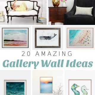 20 Best Coastal Gallery Wall Ideas