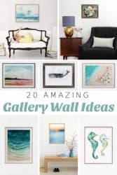 Coastal Gallery Wall Ideas