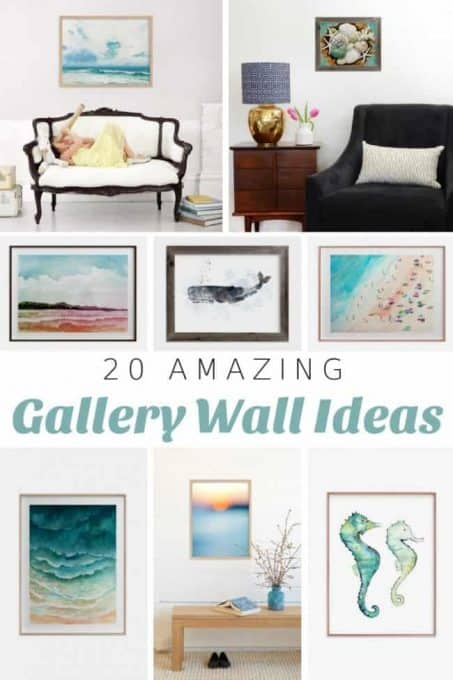 Coastal Gallery Wall Ideas