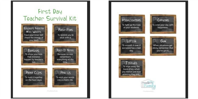 Two framed posters with a variety of small chalkboard framed sayings in them.