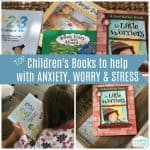 Children's Books to help your child deal with anxiety