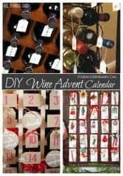 DIY Wine Advent Calendars