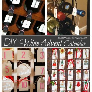 DIY Wine Advent Calendars