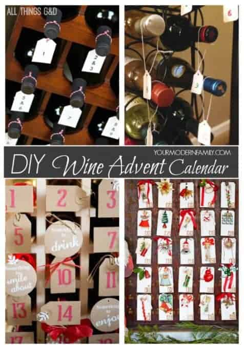 A bunch of different types of Advent Calendars on display with text.