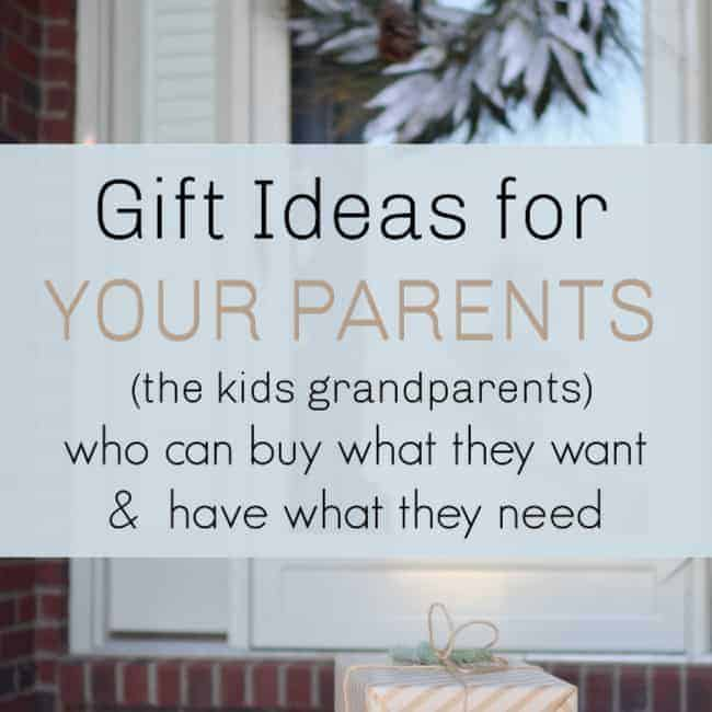 Gifts For YOUR Parents Who Have Everything And Can Buy What They Want