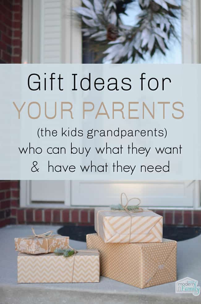 Christmas Gifts For YOUR Parents Who Already Have Everything 1