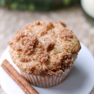 3 Ingredient Eggnog Snickerdoodle Muffins 17
