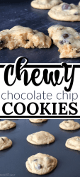 Softest Chewy Chocolate Chip Cookies