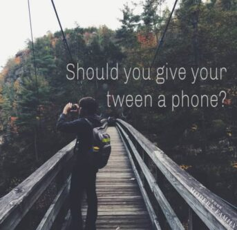 Should I get my tween a phone_