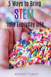 stem in kids everyday life
