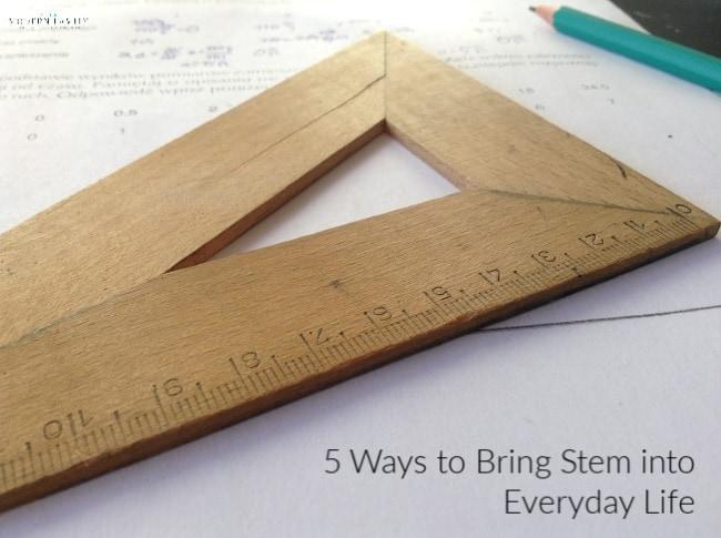 STEM ideas at home