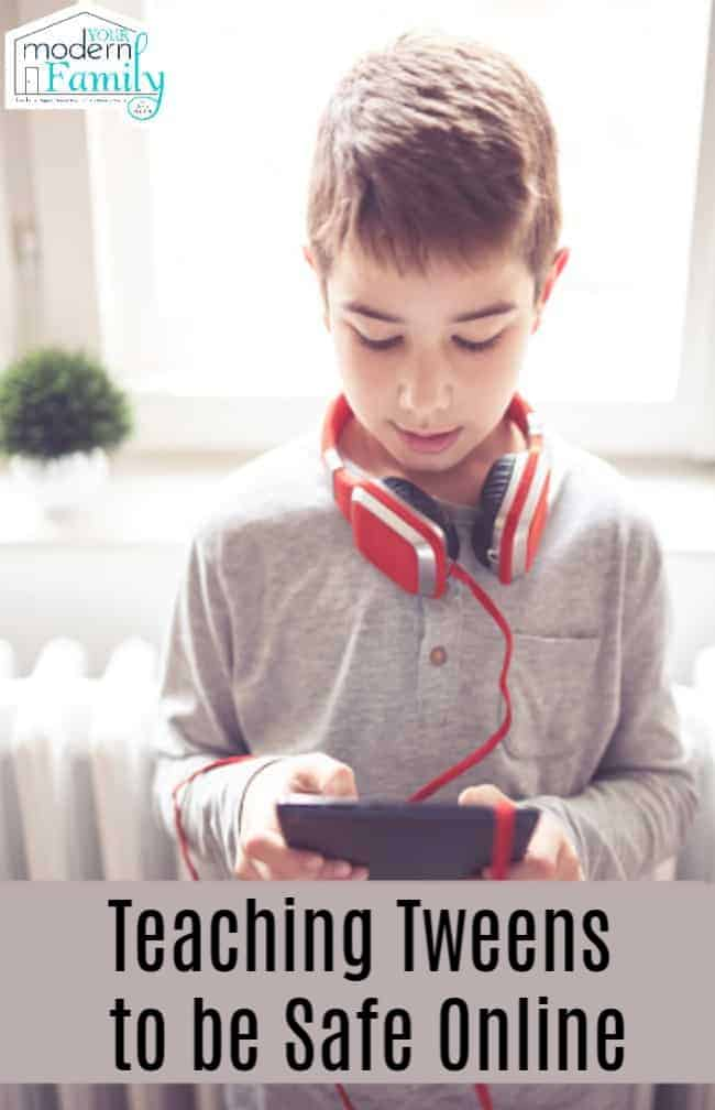Teaching Tweens to be Safe Online