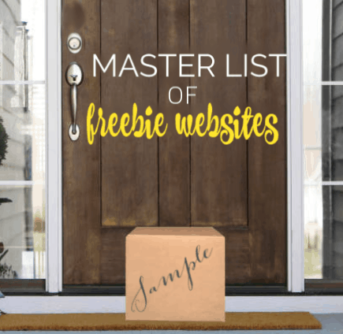 Master list of freebie website - websites that send you FREE samples!