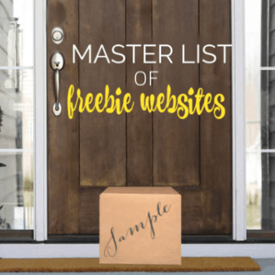 Master list of freebie website - websites that send you FREE samples!