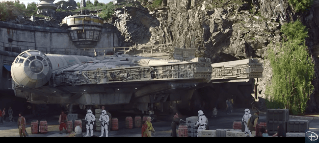 Star Wars land : Galaxy Edge Planning