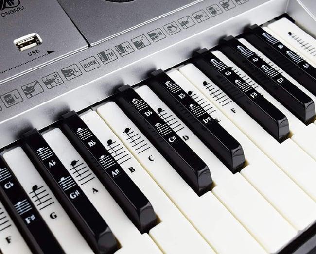 A close up of a keyboard.