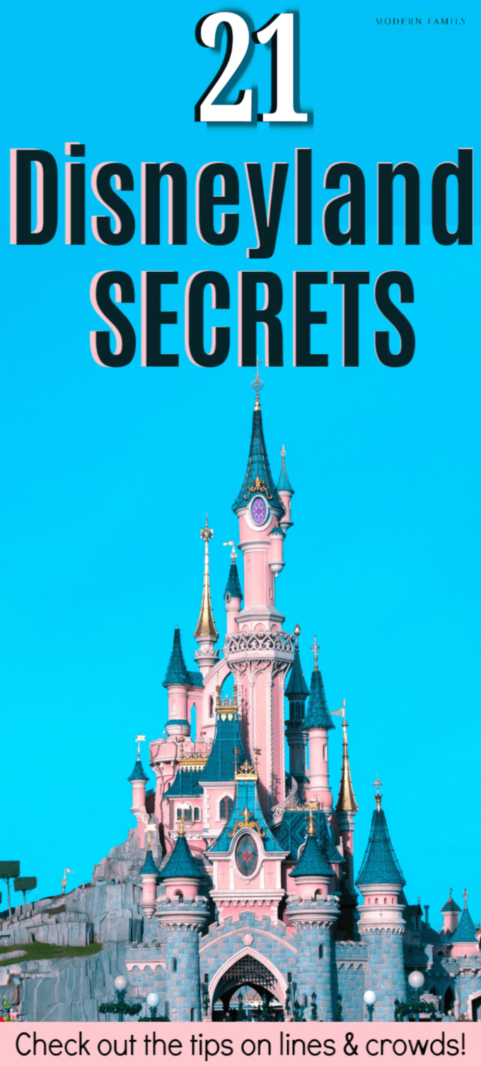 What to do at disneyland when it's crowded : 21 Disneyland Secrets