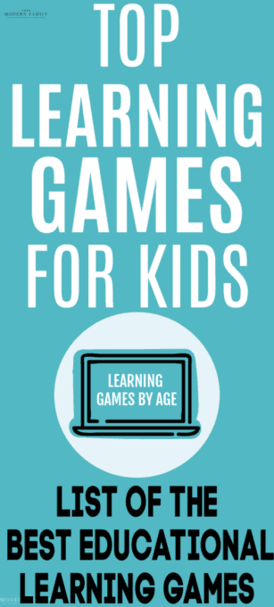 Top learning games for kids - online & offline