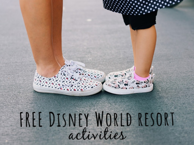 FREE Disney World resort activities
