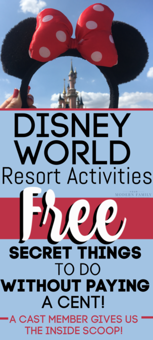 Free Disney World Resort Activities to Enjoy at the Hotels