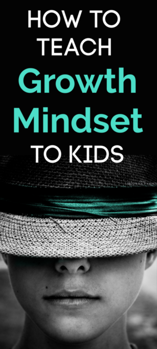 Text about Mindset To Kids.