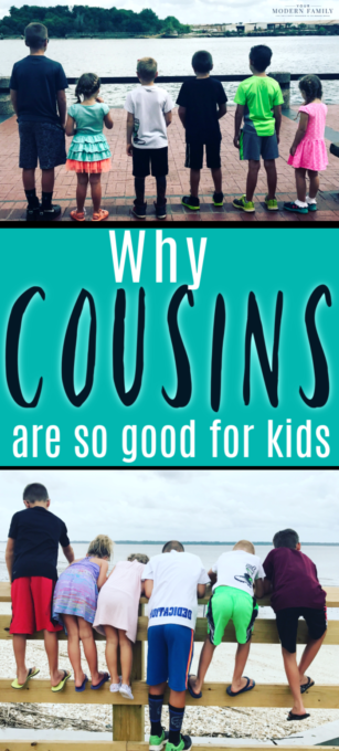 cousins are so important for kids