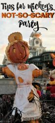 Mickey's Not So Scary Party at Disney