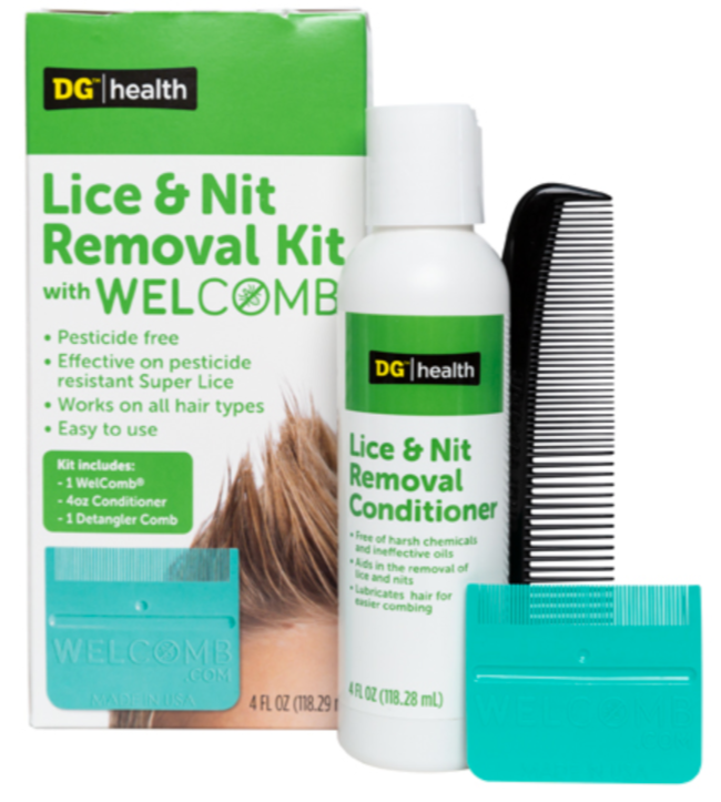 Lice removal products.