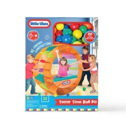 A ball pit toy.