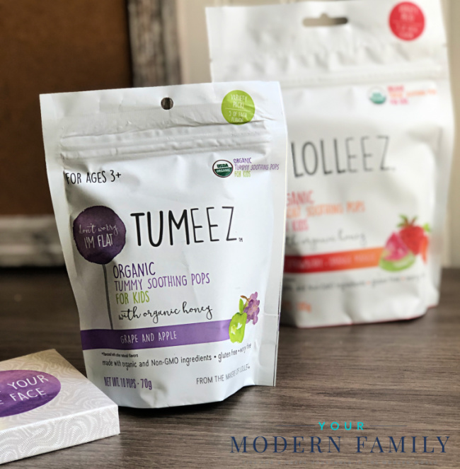 A bag of Tumeez sitting on a table