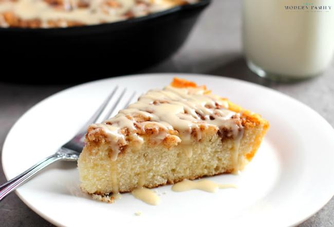 cinnamon roll skillet cake gluten free