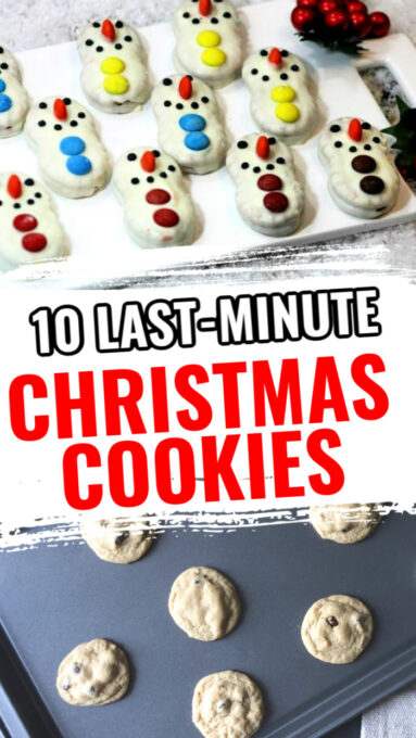10 last minute Christmas cookies