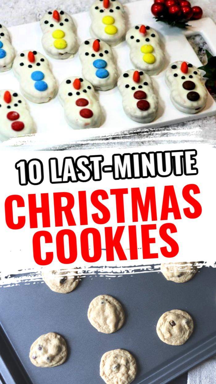 10 last minute Christmas cookies