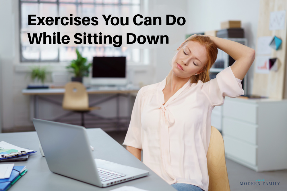 Exercises You can Do while Sitting Down.