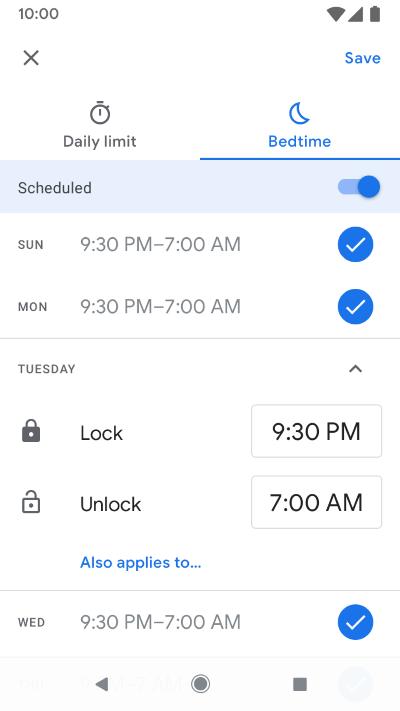 Screenshot of app on phone.