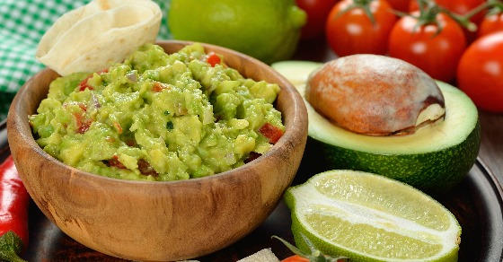 Guacamole made from scratch