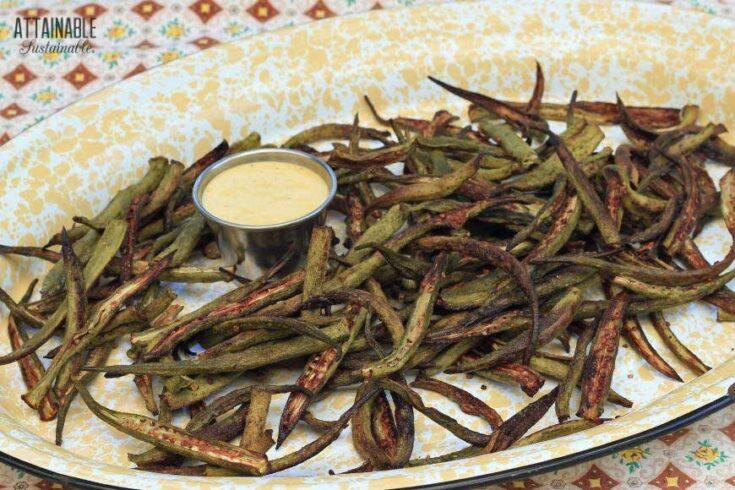 Roasted Okra (Tastes Like French Fries!)