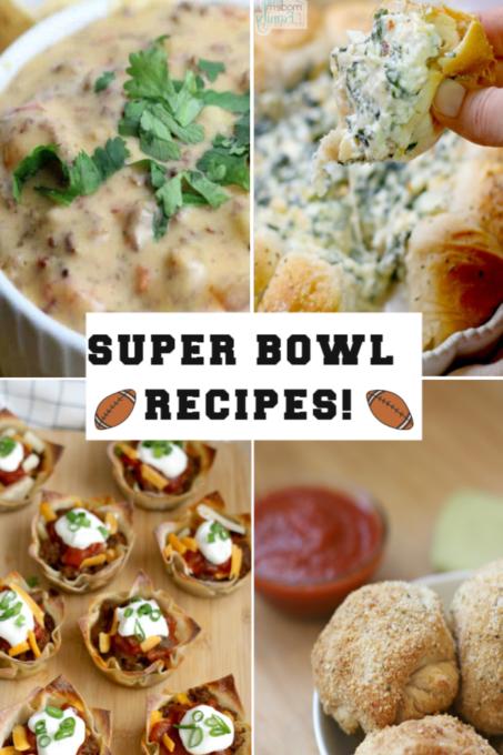 Super Bowl Appetizers & recipes